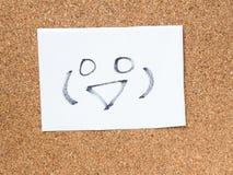 Die Reihe von japanischen Emoticons nannte Kaomoji und lächelte Stockfotos