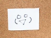Die Reihe von japanischen Emoticons nannte Kaomoji und lächelte Lizenzfreies Stockbild