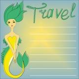 Die Reisendmeerjungfrau Lizenzfreie Stockbilder