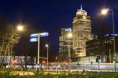 Die Rembrandt-Kontrollturm Amsterdam-Niederlande Lizenzfreie Stockfotos