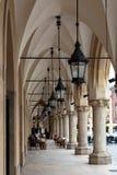 Stoff Hall - Sukiennice am Hauptplatz in Krakau Lizenzfreies Stockfoto