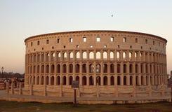 Die Replik von Rom-` s Colosseum lizenzfreies stockbild