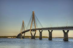 Die replot-Brücke Lizenzfreies Stockbild