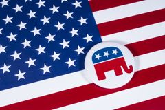 Die republikanische Partei US Lizenzfreies Stockfoto