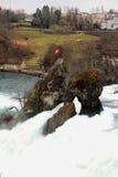 Die Rheinfall Neuhausen, die Schweiz Lizenzfreie Stockfotos