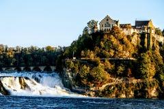 Die Rheinfall von der Schweiz lizenzfreie stockfotos
