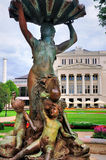Die Riga-Oper Stockfotografie