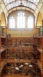 Die Rijksmuseum-Forschungs-Bibliothek, Amsterdam lizenzfreie stockfotografie