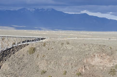 Die Rio Grande-Schlucht, New Mexiko Stockfoto
