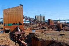 Die Riotinto Grube Lizenzfreies Stockbild
