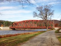 Die Riparius-Brücke Stockbilder