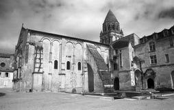 Die Romanesquekirche in Saintes Stockfoto