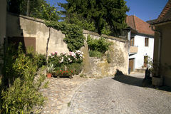 Die romantischen alten Straßen Lizenzfreies Stockbild