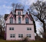Die rosa Villa Lizenzfreie Stockfotografie