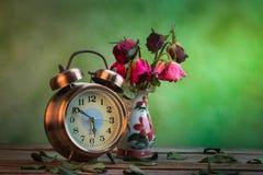 Die Rosen verwelken Liebe verloren Lizenzfreie Stockbilder