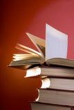Die Rot-Bücher Lizenzfreie Stockfotos