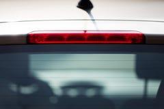 Hintergrundbeleuchtung eines Autos Lizenzfreies Stockfoto