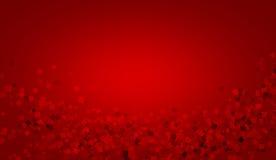 Die roten Quadrate Lizenzfreie Stockbilder