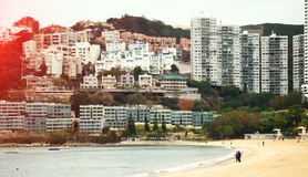 Die ruhige Atmosphäre des Strandes Lizenzfreie Stockbilder