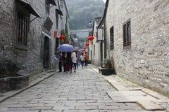 Die Ruine in Zhenjiang Stockfotografie