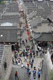Die Ruine in Zhenjiang Lizenzfreie Stockfotos