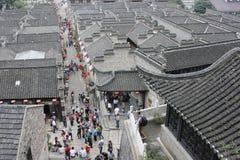 Die Ruine in Zhenjiang Stockbild