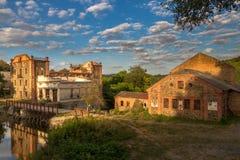 Die Ruinen der alten Mühle, Vinnitsa, Ukraine Lizenzfreie Stockbilder