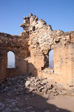 Die Ruinen der Chinesischen Mauer Lizenzfreies Stockbild