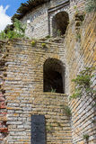 Die Ruinen der Festung Shlisselburg Lizenzfreie Stockfotos
