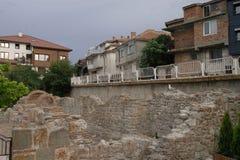 Die Ruinen der Kirche ` heiligen Mutter von Gott – Eleus-` V-VI Jahrhunderte Bulgarien lizenzfreie stockfotografie
