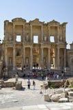 Die Ruinen der römischen Stadt von Ephes, in der Türkei Lizenzfreies Stockbild