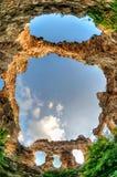 Die Ruinen der Wand Lizenzfreies Stockfoto