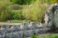 Die Ruinen des Jahrhunderts XIX Stockfoto