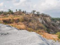 Die Ruinen des Steins Stockbilder