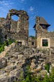 Die Ruinen eines alten europäischen Palastes Stockfoto