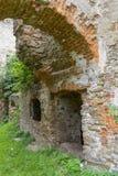 Die Ruinen eines alten Schlosses Lizenzfreies Stockbild