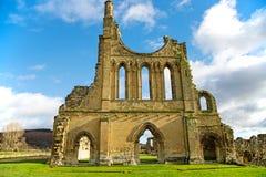 Die Ruinen eines Cistercian Klosters Stockfotografie
