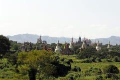 Die Ruinen von Bagan (Heide) Lizenzfreie Stockfotografie