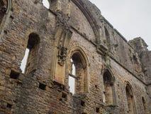 Die Ruinen von Chepstow-Schloss, Wales Stockfotos