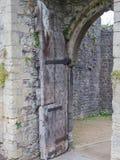 Die Ruinen von Chepstow-Schloss, Wales lizenzfreies stockbild