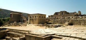 Die Ruinen von Knossos Lizenzfreies Stockfoto