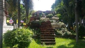 Die Ruinenpagode in Ayudhaya Lizenzfreie Stockbilder