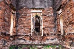 Die ruinierte Kammer stockbilder