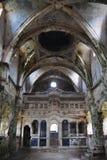 Die ruinierte Kataponagia-Kirche in Kayakoy, die Türkei Lizenzfreie Stockbilder