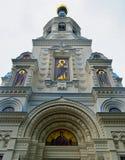 Die Russisch-Orthodoxe Kirche von St Peter und von Paul in Tschechischer Republik Karlovy Varys stockfoto