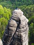 Die sächsische Schweiz Stockfotografie