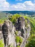 Die sächsische Schweiz Stockbild