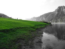 Die sächsische Schweiz Lizenzfreies Stockbild