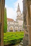 Die Säulengänge in Batalha-Kloster stockfoto