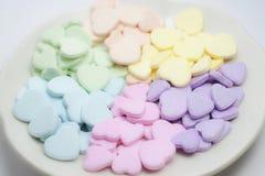 Die Süßigkeitsplatte Stockfotos